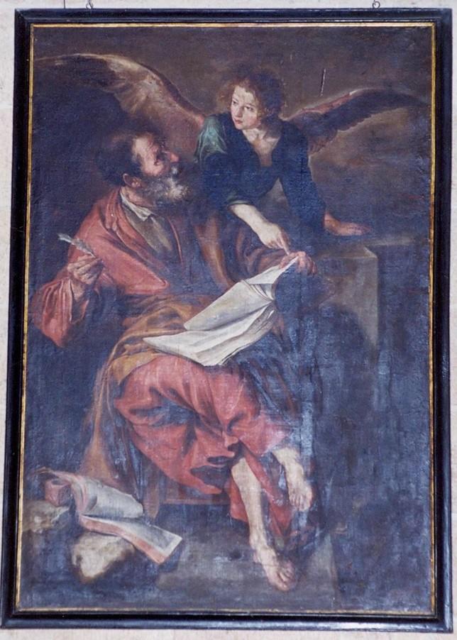 San Mateo, atribuido a Sebastián Martínez, 1650-1655, de la Catedral D.S.