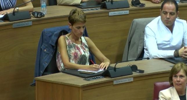 Maria Chivite, presidenta del Gobierno de Navarra