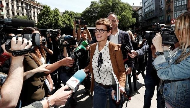 María Chivite, una política joven pero muy curtida