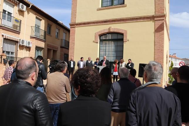 El rehabilitado Torreón de Larios ve la luz