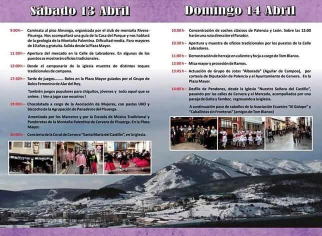 Tradición, geología y folclore centrarán la Feria de Ramos