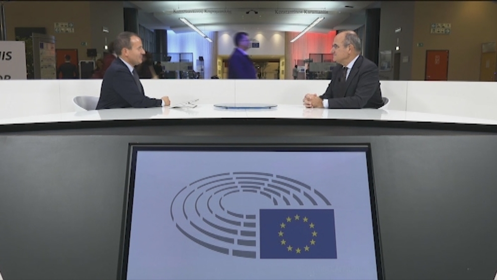 Jaume Duch en Navarra TV: