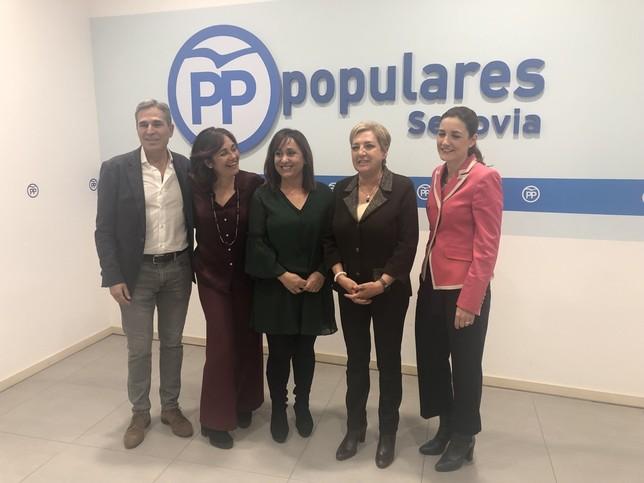 Nuria Fernández, candidata del PP a la alcaldía de Cuéllar