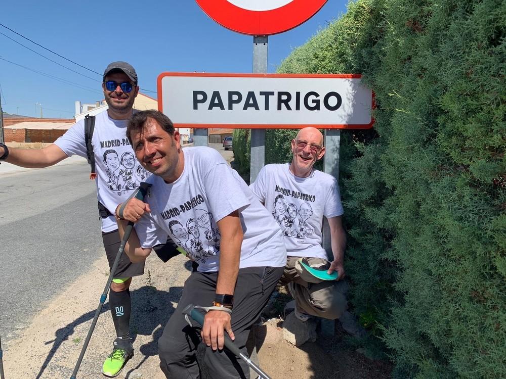 Un homenaje paso a paso y durante 150 kilómetros