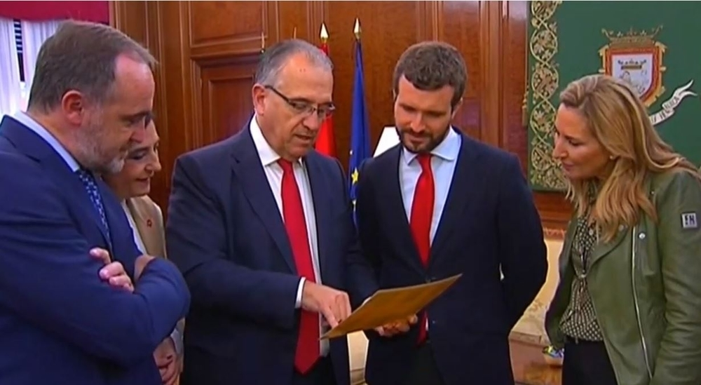 DIRECTO. Casado visita Pamplona en defensa de Navarra Suma