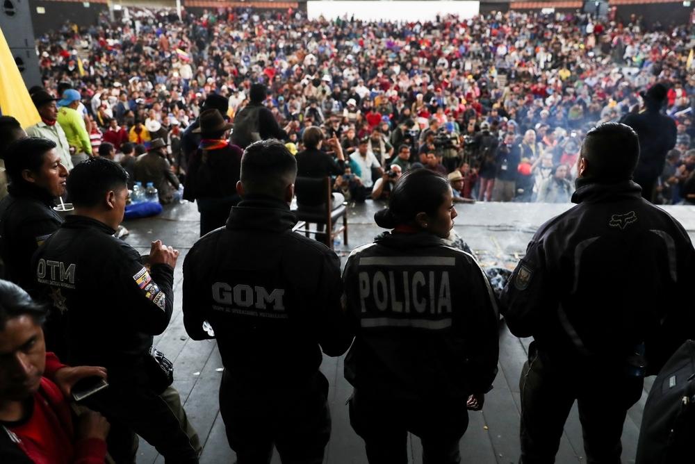 Las protestas dejan al menos cinco muertos en Ecuador