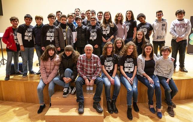 Suma de voces con Javier Busto Tomás Fernández de Moya