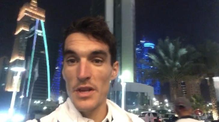 Dani Mateo se aclimata a Doha (VÍDEO)