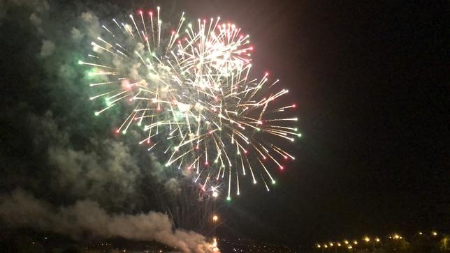 Los fuegos en La Peraleda cierran la Semana del Corpus