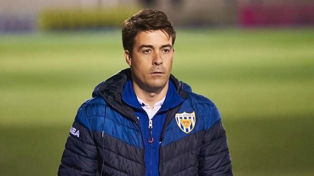Rodrigo Hernando cumplía su primera campaña en el Izarra