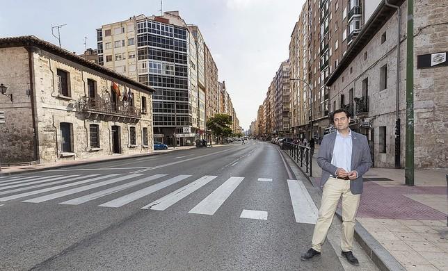 De la Rosa quiere una calle Vitoria comercial