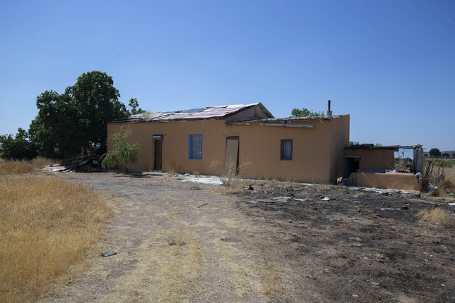 Casa abandonada a las afueras de Ciudad Real, en donde se produjo la agresión sexual