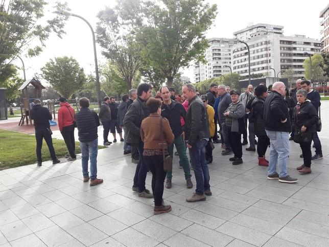 EH Bildu muestra su solidaridad con el alcalde de Berriozar