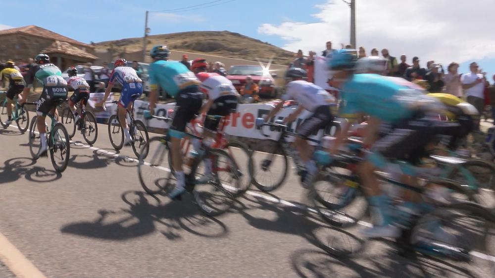 Soria ¡Ya! protagoniza la etapa de la Vuelta a España
