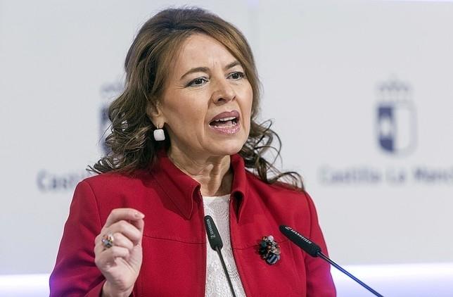 Aurelia Sánchez, consejera de Bienestar Social de la Junta de Comunidades de Castilla-La Mancha.