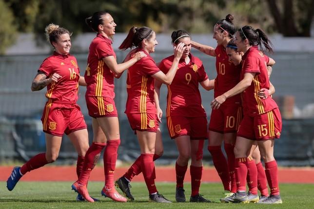 España se despide con buen sabor de boca de la Algarve Cup FILIPE FARINHA