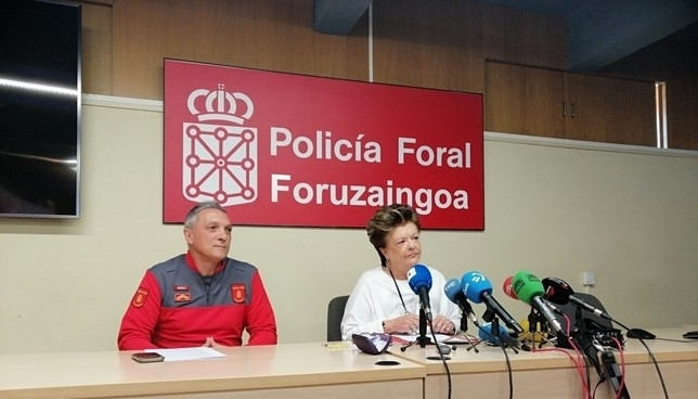 """Beumont de Casado: """"Es la centralidad andante y a ultranza"""" Policia Foral"""