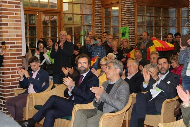 Iván Espinosa defiende la unidad de España desde Tarancón