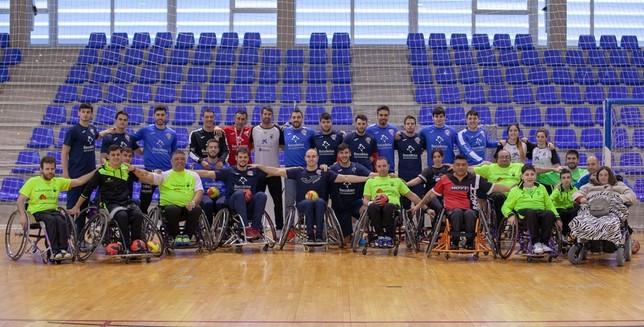 El Recoletas Atlético Valladolid e Inclusport unen fuerzas Alejandro Nieto