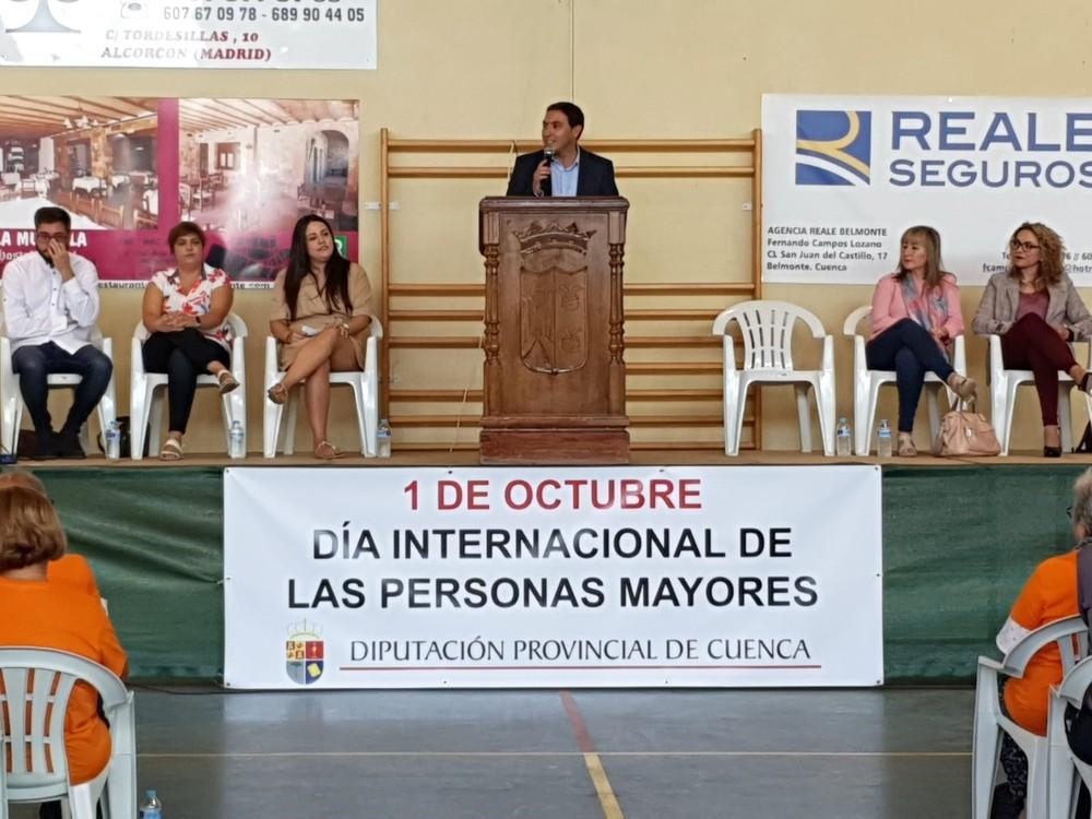 Diputación celebra el Día de los Mayores en Belmonte