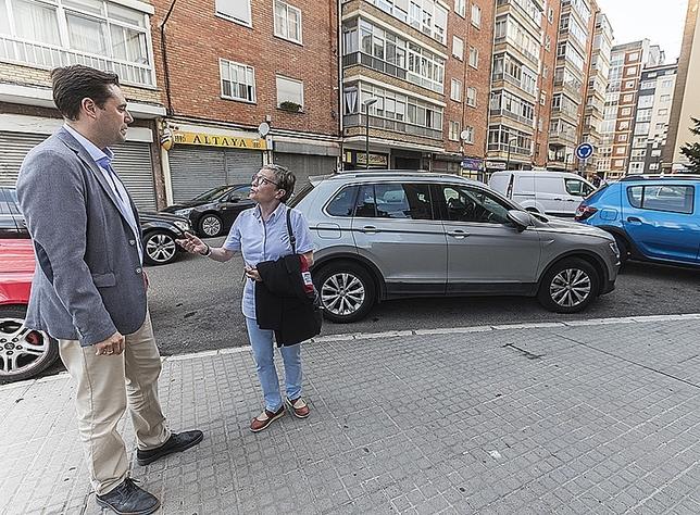 Apoyo vecinal para peatonalizar la plaza de Lavaderos
