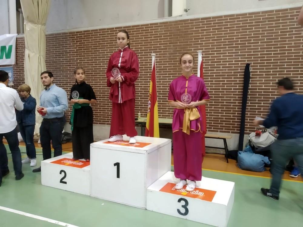 El club Lao Jia Wu Shu gana 11 medallas en tierras murcianas