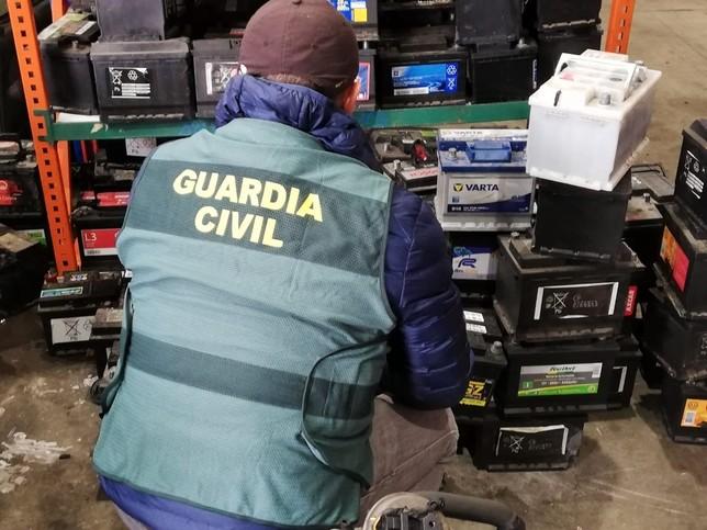 Desarticulada una banda especializada en los robos 'rurales'