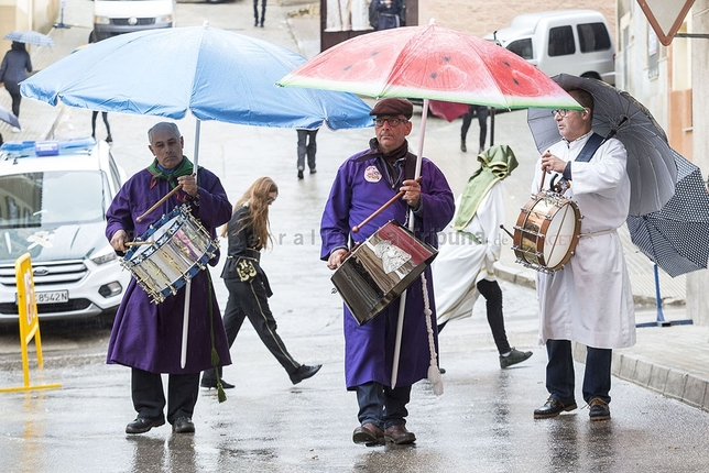 Tobarra celebra una bendición histórica por la lluvia