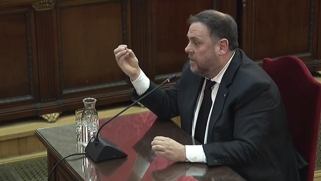 Junqueras se declara preso político POOL
