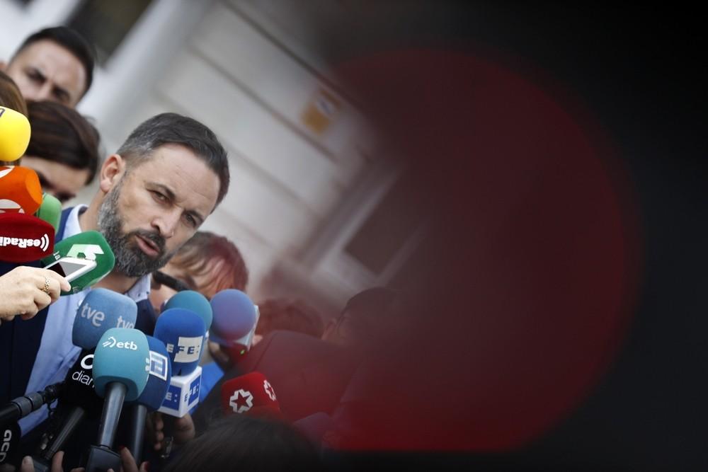 Vox solicita el estado de excepción en Cataluña