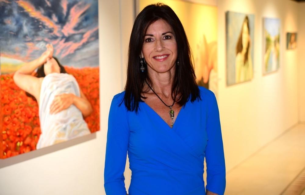 La autora, Perla Fuertes