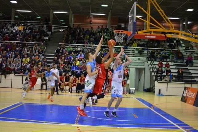 Basket Navarra no puede con el Zamora en Arrosadía