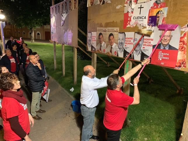 El PSOE apuesta por Page y Dolz para dar a Cuenca un impulso