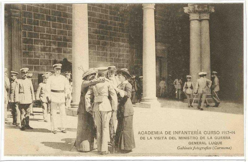 Visitantes de lujo a la Academia (II)