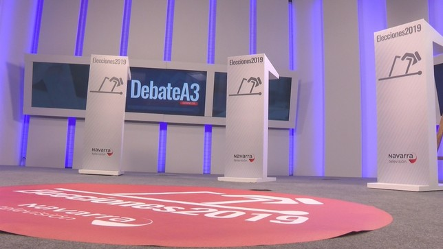Los candidatos navarros al Senado debaten hoy en Navarra TV