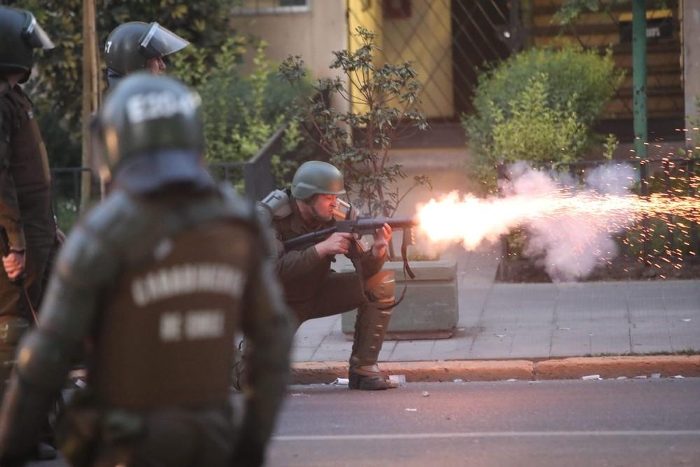 Las protestas dejan al menos una decena de muertos en Chile