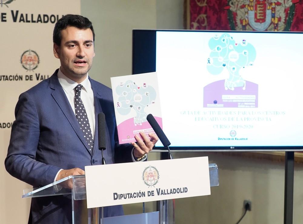 La Diputación propone 29 talleres y concursos en colegios