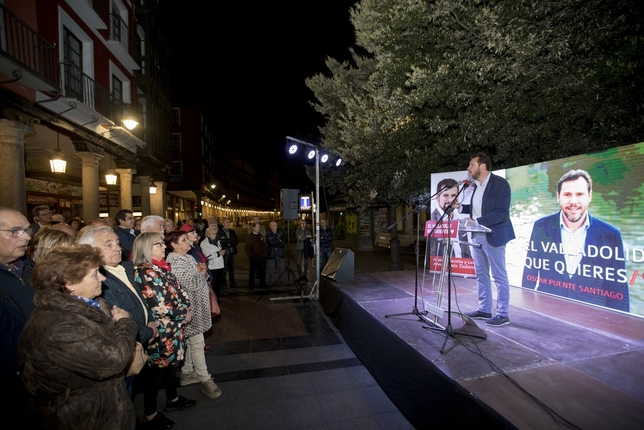 Inicio de la campaña electoral del PSOE de Valladolid