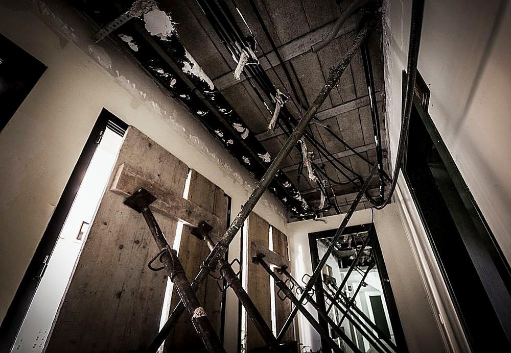 Hotel La Reserva, del lujo...a la ruina
