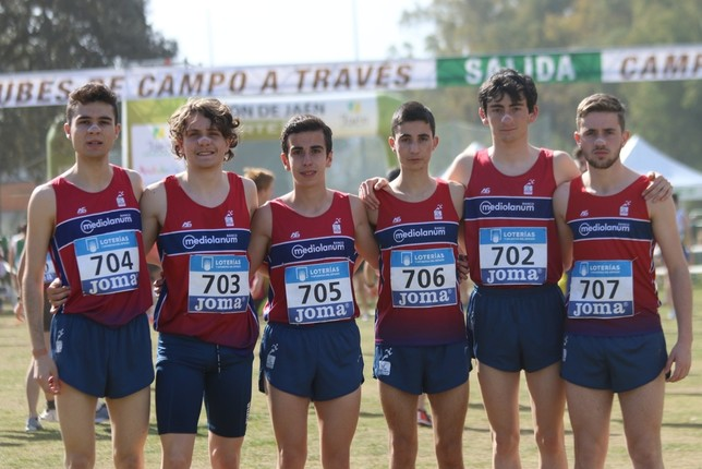 'Pinchazo' de Sánchez-Escribano en Linares Club Atletismo San Ildefonso