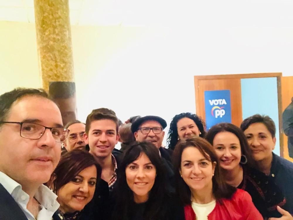 Prieto lanza un mensaje de unidad y de voto útil