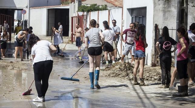 Borox pedirá ser zona catastrófica con 100 casas dañadas