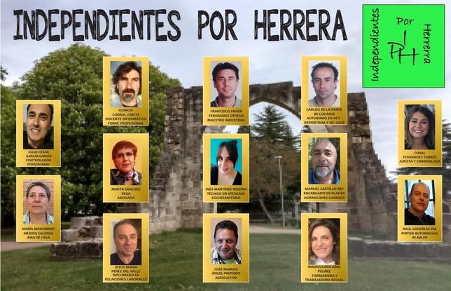 Cuatro grupos se disputan el Consistorio de Herrera