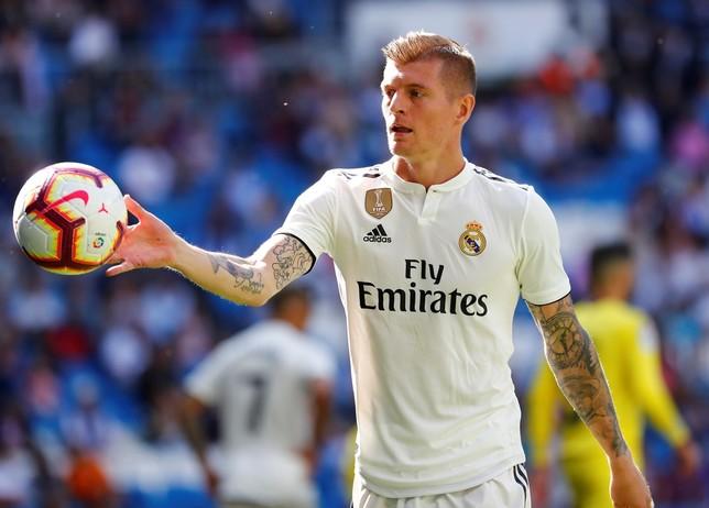 Kroos renueva con el Real Madrid hasta 2023