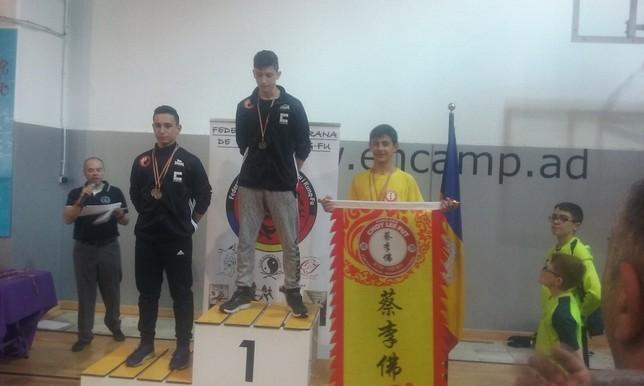 El Club Lao Jia Wu Shu logra cinco medallas en D'Encamp
