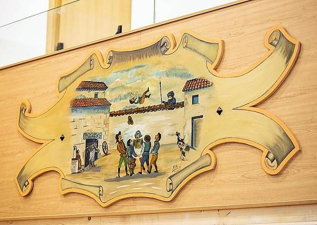 El teatro de Navaleno recupera las pinturas del Quijote