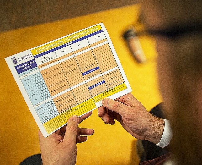 El calendario del buen contribuyente