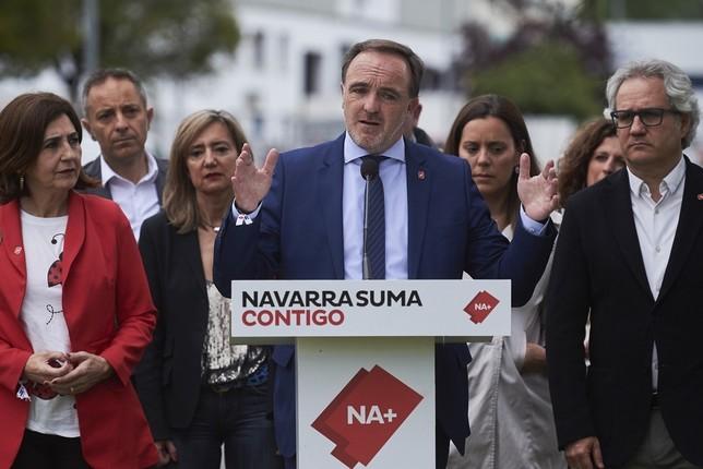 Subida salarial y pleno empleo, objetivos de Navarra Suma