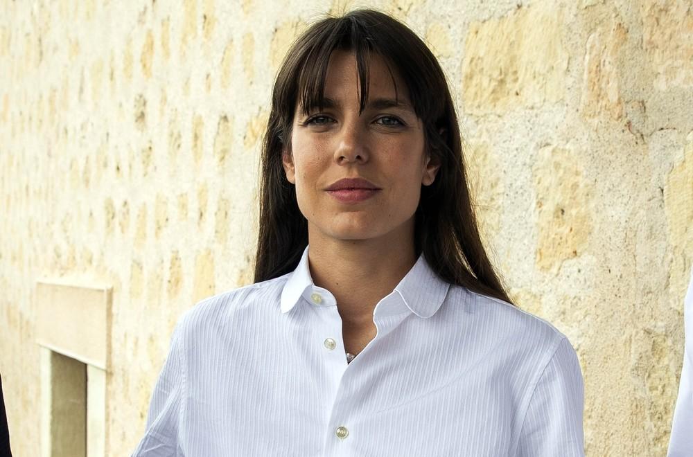 Charlotte Casiraghi en un hotel de Segovia