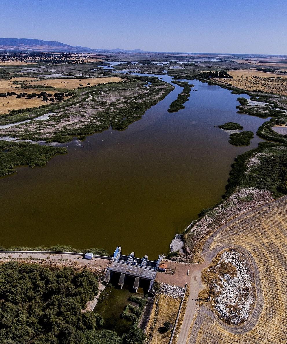 La sequía aflora en los pantanos
